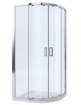 Mira Leap 6mm Glass Offset Quadrant Enclosure