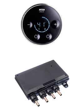 Mira Platinium Dual Shower Valve And Controller