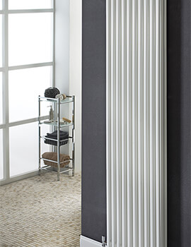 Biasi Chiara Vertical 3 Column 2000mm High Tubular Radiator