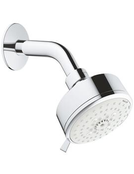Grohe Tempesta Cosmopolitan 100 Chrome 4 Sprays Shower Head