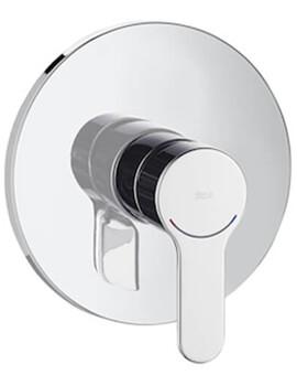 Roca L20 Built-In Bath Or Shower Mixer Valve - 1 Outlet