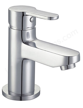 Essential Camden Mono Basin Mixer Tap With Click Clack Waste