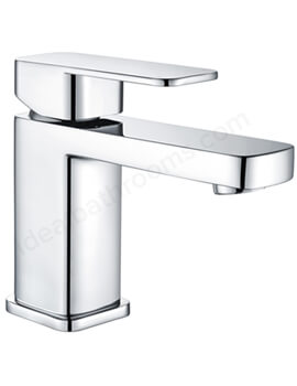 Essential Hadley Mono Basin Mixer Tap Single Lever With Click Clack Waste