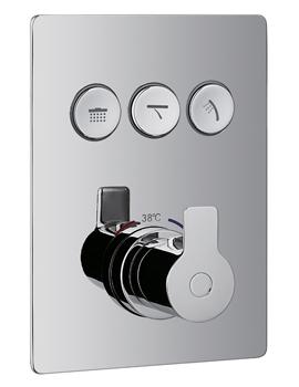 Flova Spring Goclick 3 Button Trim Kit With GOBOX333