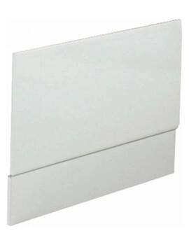 Phoenix Luxury Bath End Panel High Gloss White