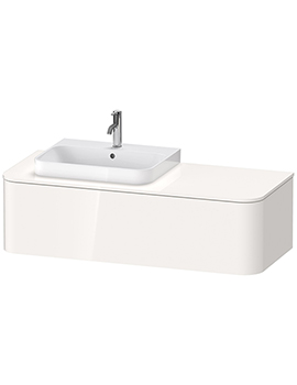 Duravit Happy D.2 Plus 1300 x 550mm Vanity Unit With 1 Pull-Out Compartment