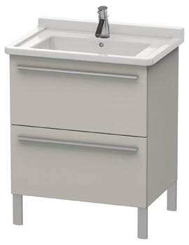 Duravit X-Large Vanity Unit With 2 Pull-Out Compartment For Starck 3 Basin