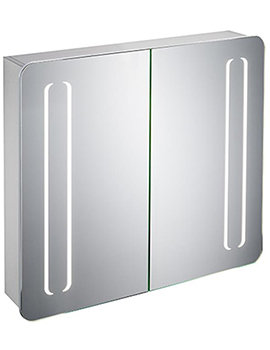 Ideal Standard Mirror Cabinet With Front Light And Bottom Ambient