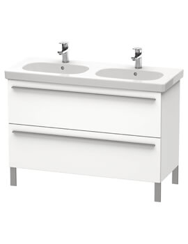Duravit X-Large 1150mm 2 Pull-Out Compartment Vanity Unit For D-Code Basin