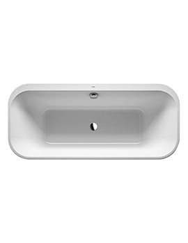 Duravit Happy D.2 Plus 1800 x 800mm Freestanding Bath With Panel And Frame