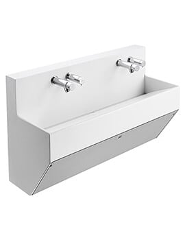 Armitage Shanks Contour 21 Splash Wall Hung Wash Trough - Undrilled
