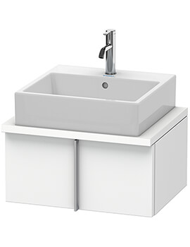 Duravit Vero Wall Mounted Vanity Unit With Console Compact