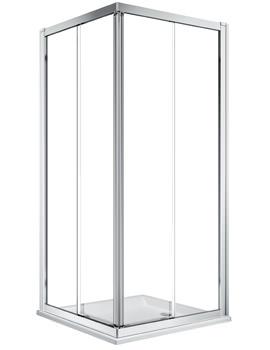 Twyford Geo Corner Entry Shower Enclosure With 6mm Glass