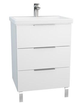 VitrA Ecora 3 Drawers Vanity Unit With Washbasin