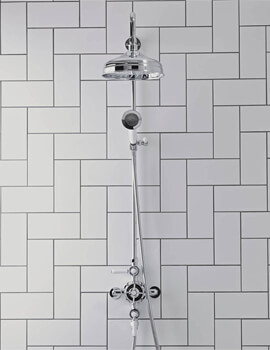 Tavistock Cheltenham Thermostatic Exposed Dual Function Shower System