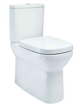 Britton My Home 600mm Projection Close Coupled Back To Wall WC Pan With Soft Close Seat And Cistern