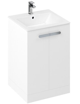 Britton My Home 600mm Floorstanding Unit With Countertop Basin