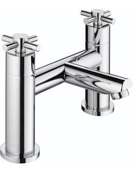 Bristan Decade Chrome Finish 2 Hole Bath Filler Tap