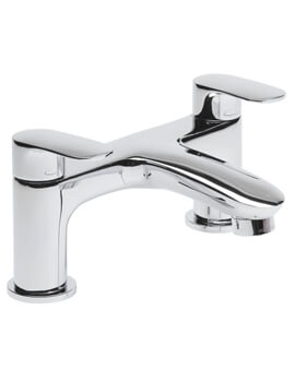 Tavistock Avid Deck Mounted Chrome Bath Filler Tap