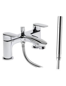 Tavistock Avid Deck Mounted Bath Shower Mixer Tap With Handset