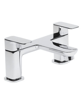 Tavistock Haze Deck Mounted Chrome Bath Filler Tap