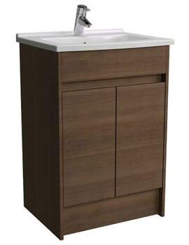 VitrA S50 600mm Floor Standing 2 Door Vanity Unit With Washbasin