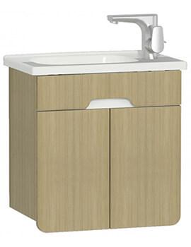 VitrA D-Light 500 x 305mm Vanity Unit With Washbasin