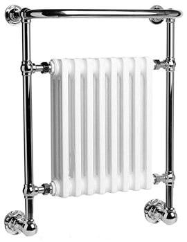 DQ Heating Croxton Wall Mounted Heated Towel Rail
