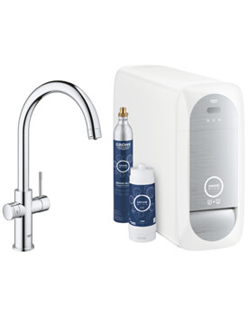 Grohe Blue Home Kitchen Sink Mixer Tap With Filter Function