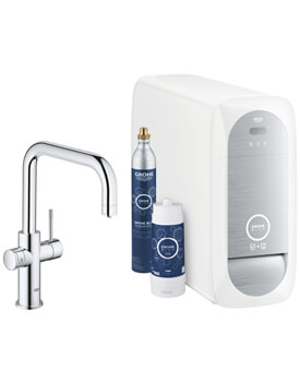 Grohe Blue Home U Spout Kitchen Sink Mixer Tap With Filter Function