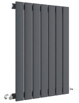 Hudson Reed Sloane Single Panel Horizontal Radiator 600mm High