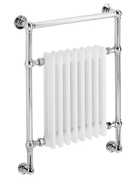 DQ Heating Lynford Wall Mounted Heated Towel Rail