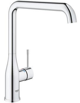 Grohe Essence Plus Single Lever L-Spout Kitchen Sink Mixer Tap