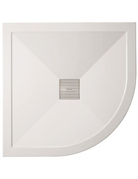 Crosswater Simpsons Low Profile Quadrant Shower Tray With Waste
