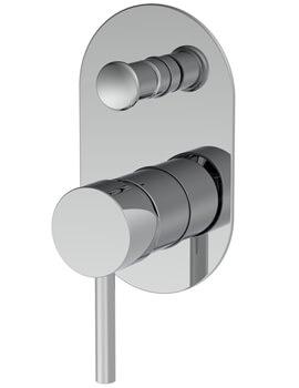 Saneux Cos Manual Bath Shower Mixer Concealed Valve With Diverter