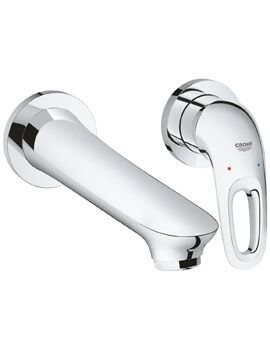 Grohe Eurostyle Two Hole Basin Mixer Tap