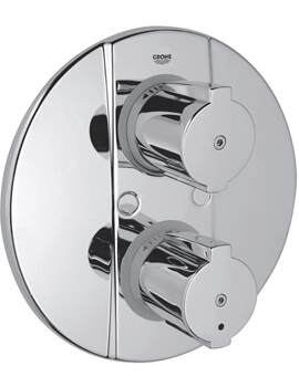 Grohe Grohtherm 2000 Special Thermostatic Shower Mixer Trim