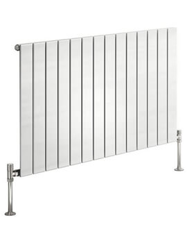 Reina Flat Horizontal Steel Designer Radiator 600mm High