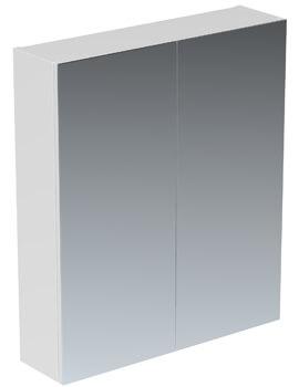 Saneux Austen 600mm Wide 2 Door Mirror Cabinet