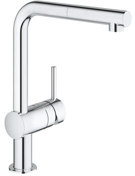 Grohe Minta Sink Tap With Pull Out Spout Extractable Mousseur