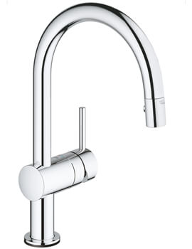 Grohe Minta Touch C-Spout Electronic Kitchen Sink Mixer Tap