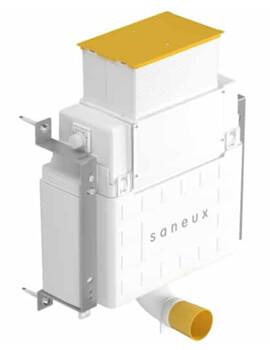 Saneux Flushe 2.0 Compact Concealed Front Flush Cistern