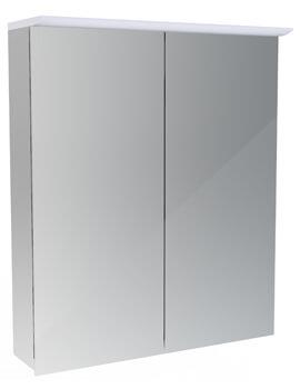 Saneux Glacier 2 Door Cabinet With Shaver Socket And Light