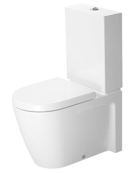 Duravit Starck 2 370 x 630mm Close Coupled WC With Cistern