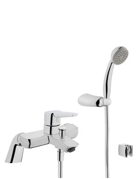 VitrA Solid S Deck Mounted Bath Shower Mixer Tap With Kit
