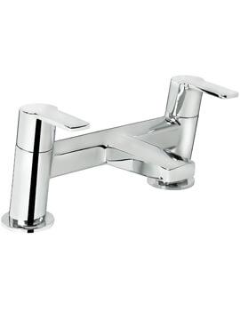 Bristan Pisa 2 Hole Deck Mounted Bath Filler Tap