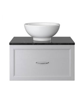 Heritage Caversham 700mm Wall Hung Vanity Unit With Basin