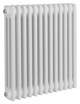 Reina Colona 2 Column Horizontal 500mm High White Radiator