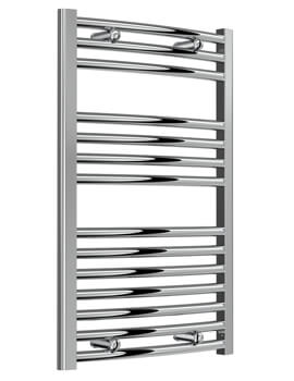 Reina Diva 450 x 800mm Chrome Flat Towel Warmer