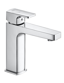 Roca L90 Compact Smooth Body Basin Mixer Tap